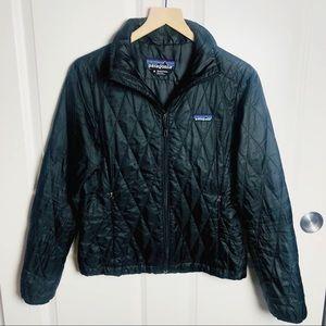 Patagonia Nanopuff Black Full Zip Jacket Size S